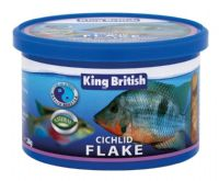 King British Cichlid Flake Food 28g also larger fish